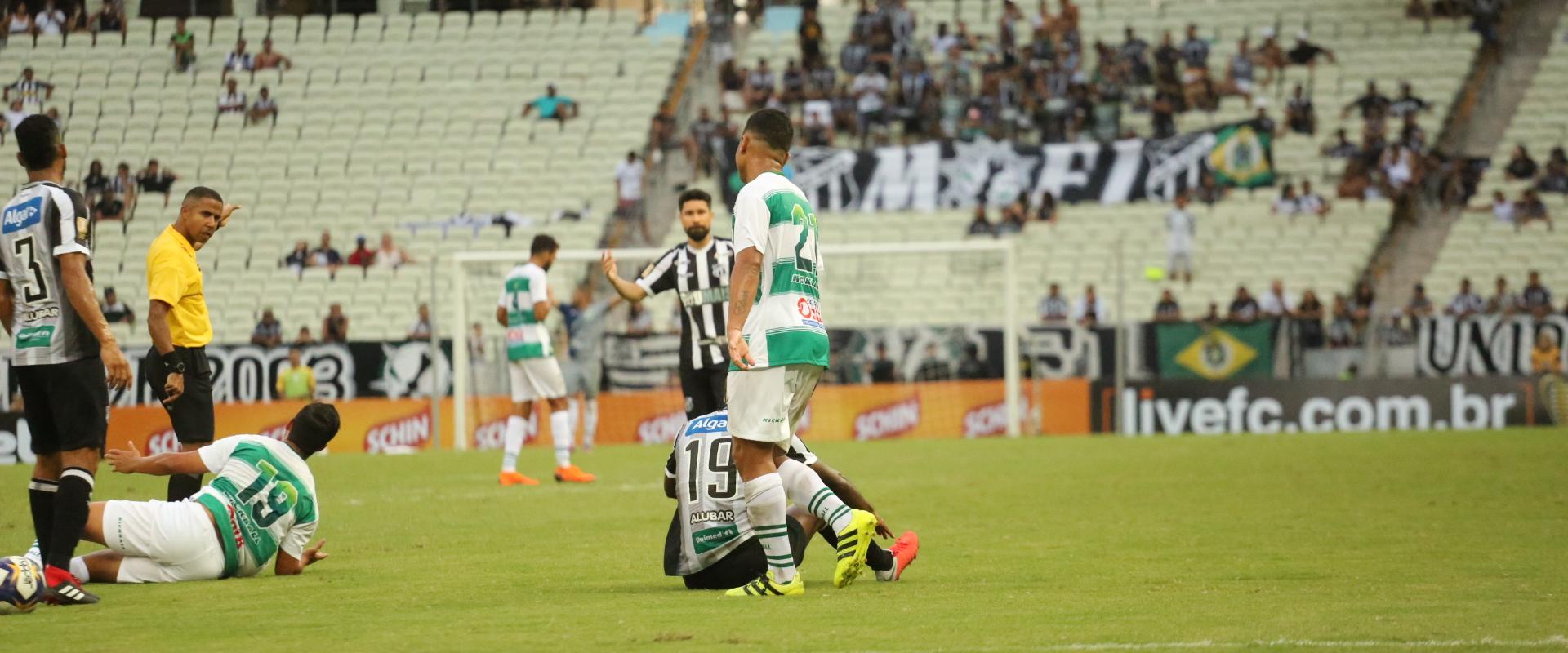 A partida válida pela Copa do Nordeste terminou 2 a 1 para o Ceará. Com  gols de Samuel Xavier e Felipe Baixola. Netinho marcou para o Altos. d6528317a1531