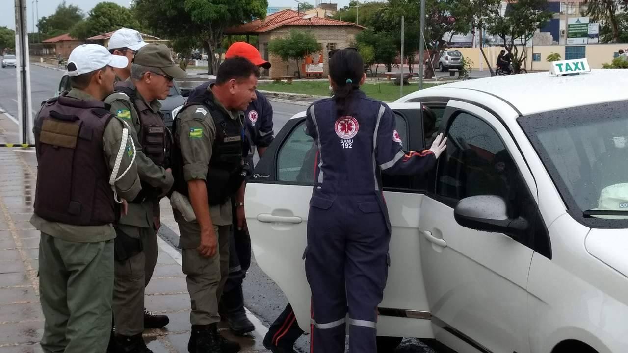 Resultado de imagem para blogdopessoa taxista é morto facadas