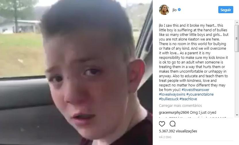 Criança vítima de bullying partilha relato emocionante na internet | Vídeo