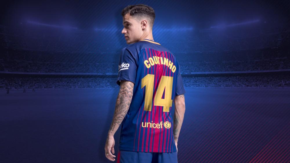 Barcelona confirma que Coutinho usará 'número pesado' no clube — Acabou o mistério