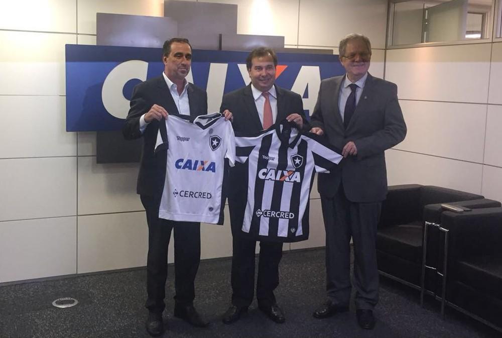 Patrocínio da Caixa ao Botafogo para 2018 tem o valor definido