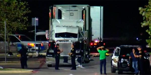 Oito morrem dentro de caminhão nos EUA