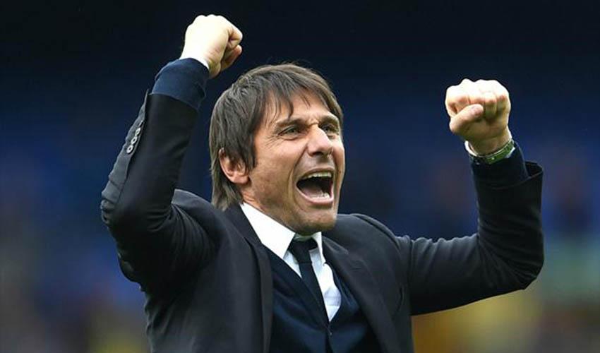 Antonio Conte anuncia festa: