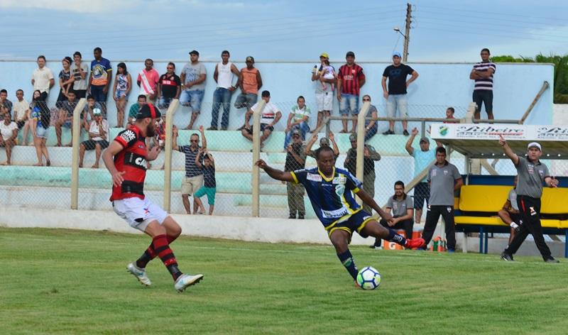 Altos perde para o Botafogo-PB pela Copa do Nordeste