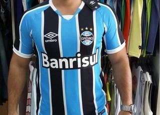 262be6fe3e Vaza na web suposta nova camisa do Grêmio que será lançada em ...