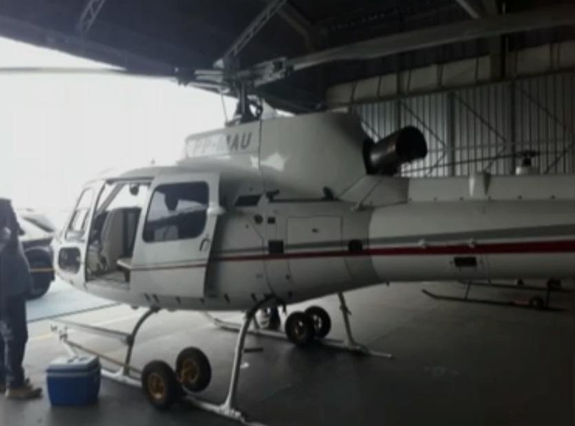 Piloto de Perrela no helicoca é preso em helicóptero do PCC