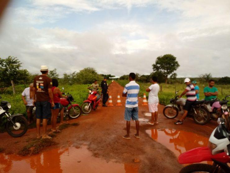Barragem em José de Freitas pode romper e famílias são evacuadas