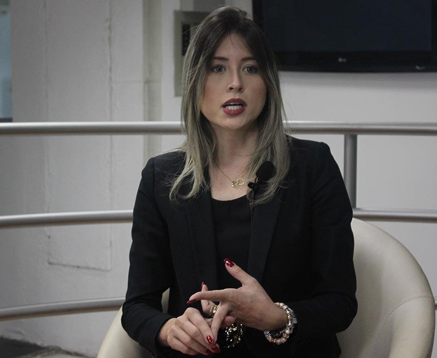 Delegada do Núcleo de Feminicídio, Anamelka Cadena (Foto: Cícero Portela/ODIA)