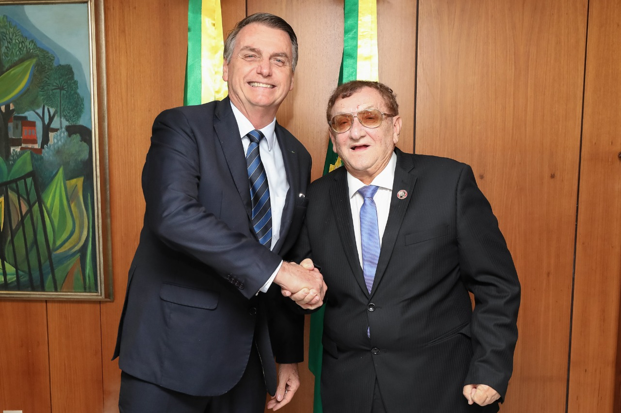 Parnaíba: Mão Santa é atendido por Bolsonaro e receberá respiradores