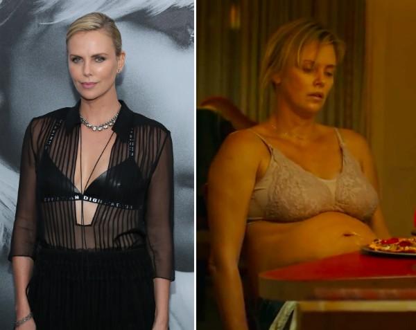 Charlize Theron conta que entrou em depressão após engordar 23 kgs