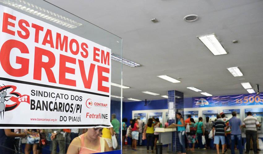 GREVE NOS BANCOS: Serviços em agências bancárias do Piauí ficam suspensos