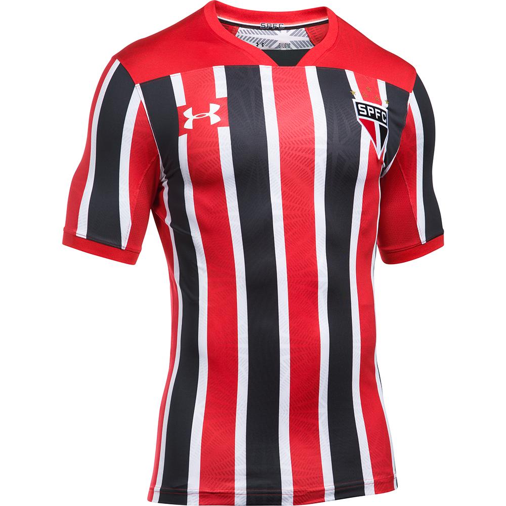 São Paulo divulga novo uniforme de visitante; Estreia será contra o Santos