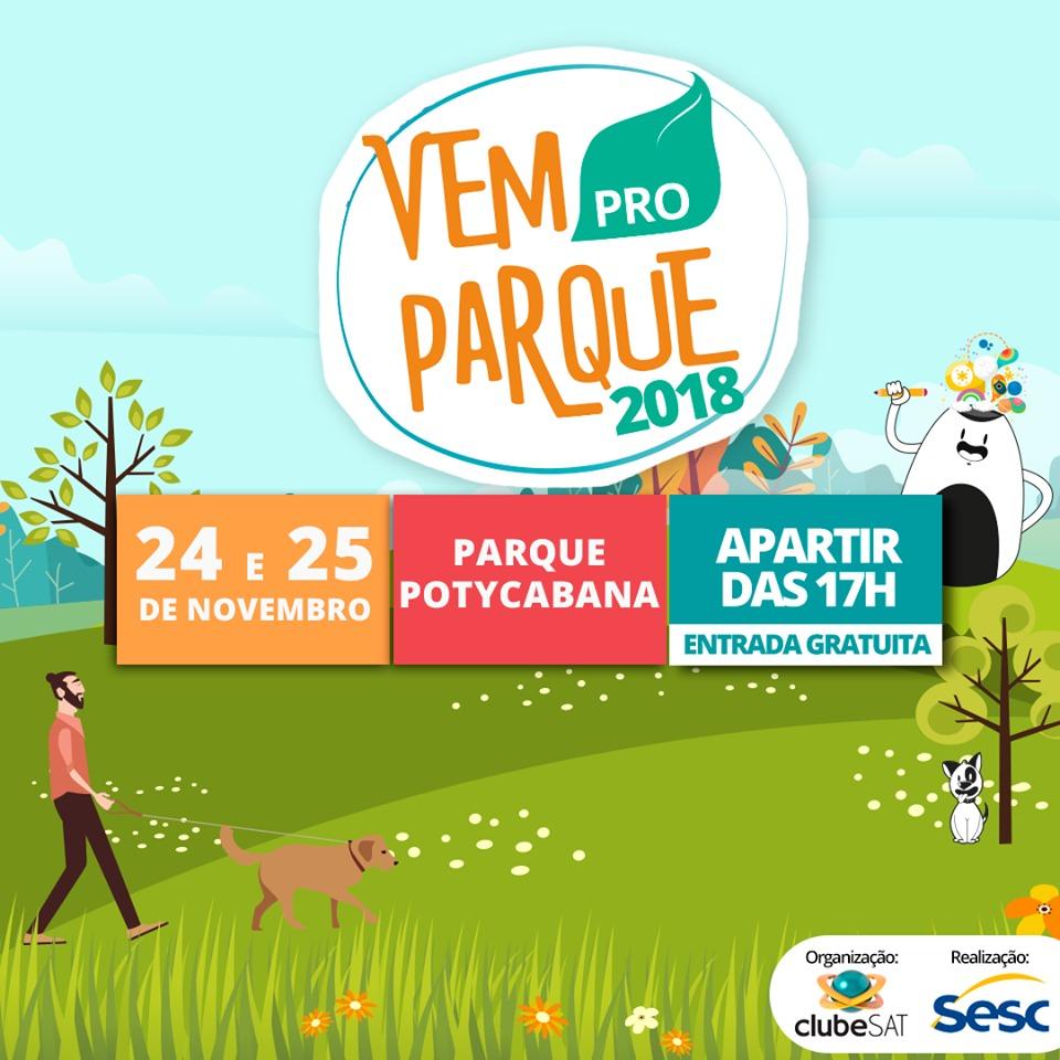 0ae9e25b99 Vem pro Parque traz atividades culturais e shows gratuitos para THE ...