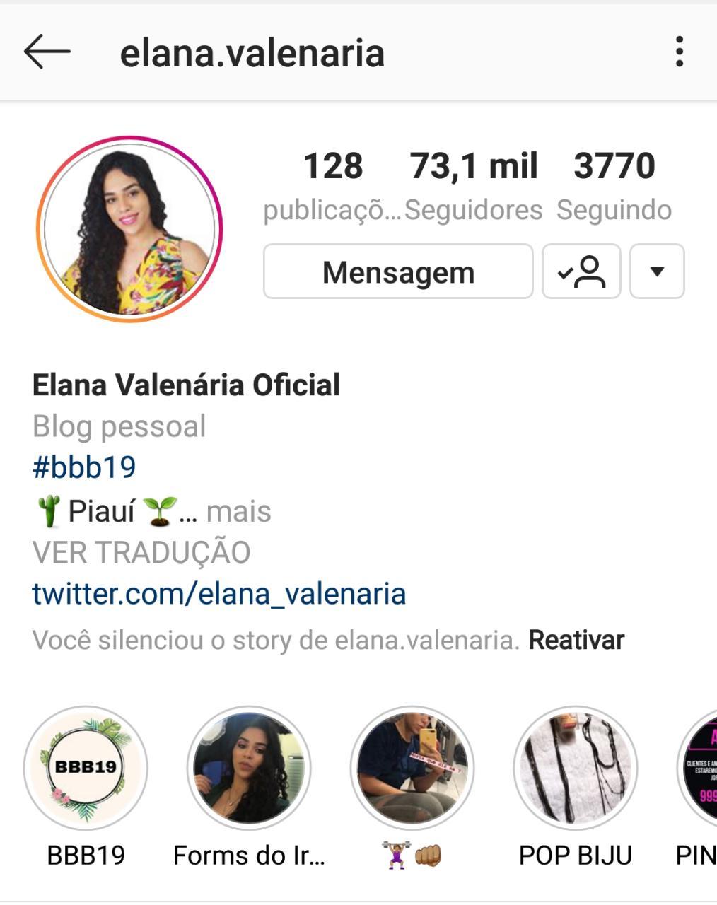 new concept f0ec9 223df Já na manhã desta quinta (10), somente a sua conta no Instagram, já soma  mais de 73 mil pessoas.