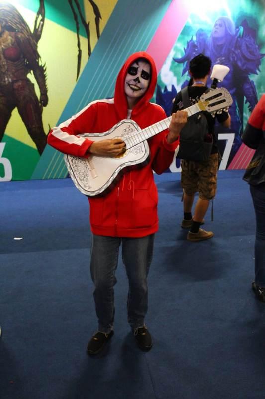 Universo dos Cosplays no Comic Con