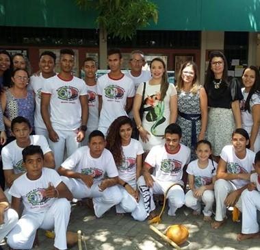 Capoterapia estimula a prática esportiva em Água Branca