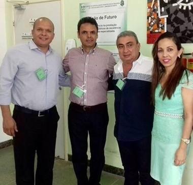 Presidente da APPM e prefeito de Gilbués visitam Consórcio em Saúde