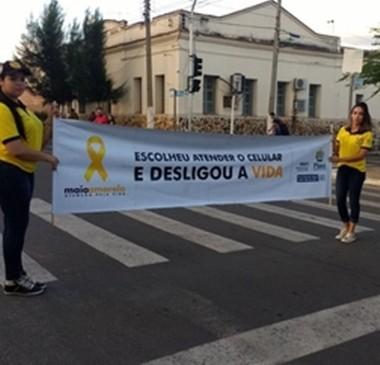 Escola Piauiense de Trânsito realiza ações educativas no Piauí