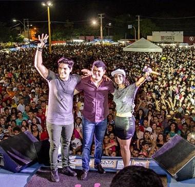 Festeja Cocal tem shows das bandas Sacode e Conde do Forró