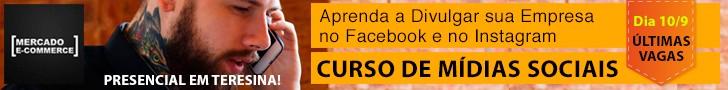 Curso mídia sociais Teresina