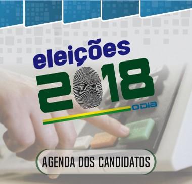 agenda dos candidatos qdn