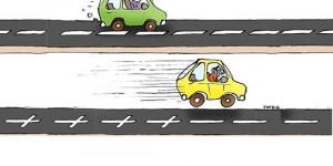 Charge do Dia: Velocidade e imprudência no trânsito deixa rastro de tragédias