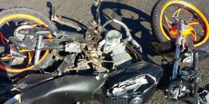 Motociclista de 19 anos morre após ser atropelado por caminhão em Castelo do Piauí
