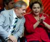 Artistas e o ex- presidente Lula acompanham Dilma no Senado