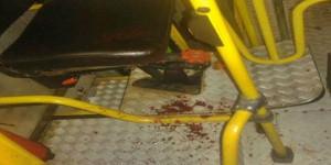 Dupla assalta ônibus e esfaqueia cobrador na perna, na zona sudeste de Teresina
