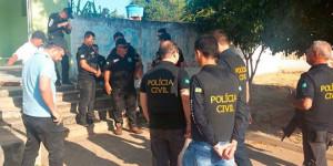 Polícia deflagra operação e prende cinco pessoas por roubos e estupro no interior