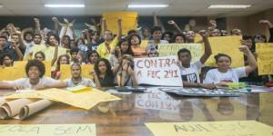 Ocupação contra PEC 241 completa quatro dias e estudantes reivindicam melhorias
