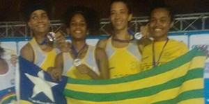 Equipe do Piauí é vice-campeão do Norte Nordeste de Atletismo