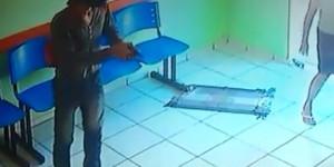 Dupla armada invade e rouba dinheiro do dízimo de igreja no bairro Mocambinho; vídeo