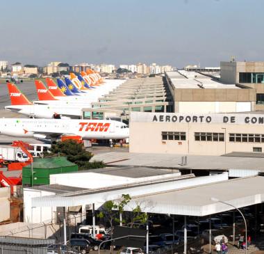 Governo Federal  decide leiloar o aeroporto de Congonhas em 2018
