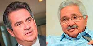 Senadores do Piauí Elmano e Ciro votaram a favor de Aécio Neves