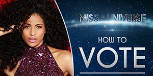 Miss Universo abre votação pela web; veja como votar em Monalysa