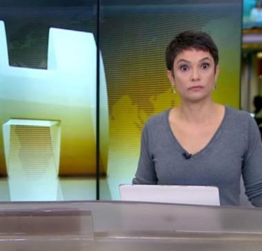 Reação de Sandra Annenberg ao ouvir ofensa a repórter vira meme