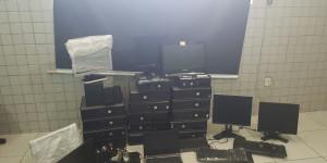 Gestor de TI rouba 30 computadores de empresa de call center e é preso pela Polícia