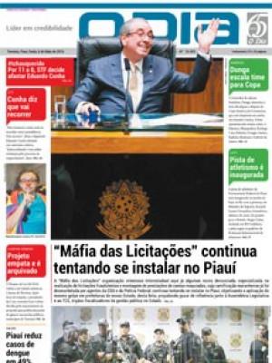 """Jornal O Dia - """"Máfia das Licitações"""" continua tentando se instalar no Piauí"""