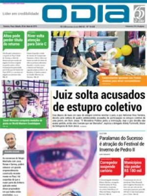 Jornal O Dia - Juiz solta acusados de estupro coletivo