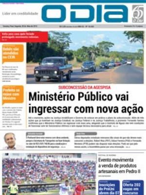 Jornal O Dia - Ministério Público vai ingressar com nova ação