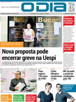 Jornal O Dia - Nova proposta pode encerrar greve na Uespi