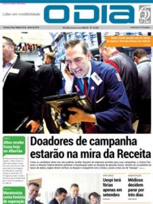 Jornal O Dia - Doadores de campanha estarão na mira da Receita