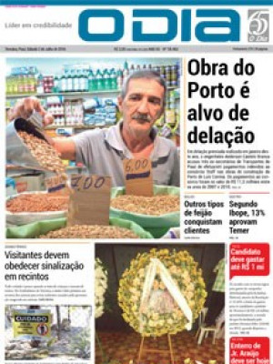 Jornal O Dia - Obra do Porto é alvo de delação