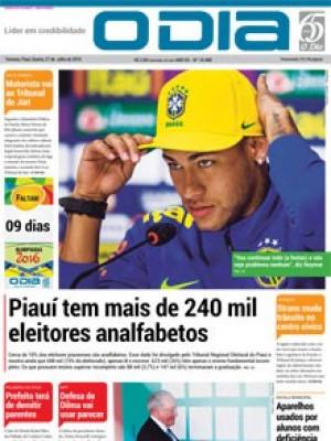 Jornal O Dia - Piauí tem mais de 240 mil eleitores analfabetos