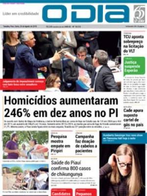 Jornal O Dia - Homicídios aumentaram 246% em dez anos no PI
