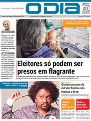 Jornal O Dia - Eleitores só podem ser presos em flagrante