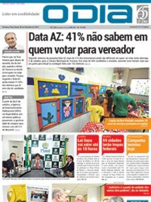 Jornal O Dia - Data AZ: 41% não sabem em quem votar para vereador3