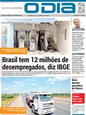Jornal O Dia - Brasil tem 12 milhões de desempregados, diz IBGE