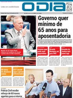 Jornal O Dia - Governo quer mínimo de 65 anos para aposentadoria